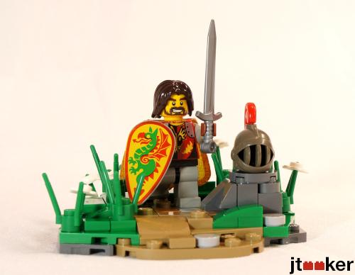 Aarash in his Armor