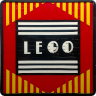 Art Deco LEGO Logo