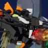 Micro LEGO Black Dragon
