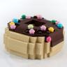 Chocolate Glazed Donut with Sprinkles