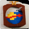 Classic Space Needlepoint